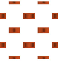 orange brick pattern flat vector image