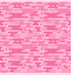 pink camouflage seamless pattern vector image