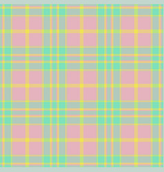plaid seamless pattern background textile vector image