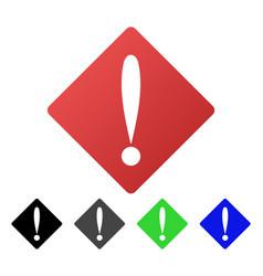 Problem flat gradient icon vector