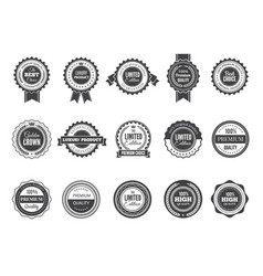 vintage premium badge luxury high quality best vector image