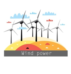 Wind power vector