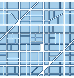Seamless background of city vector image vector image