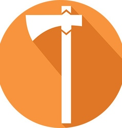 Viking Axe Icon vector image