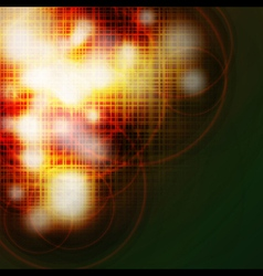 Abstract grid burned background vector