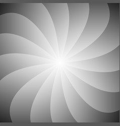 abstract spiral ray background - gradient design vector image