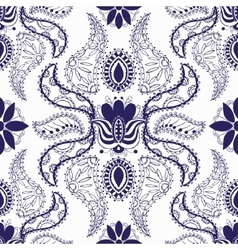 Beautiful vintage pattern vector image