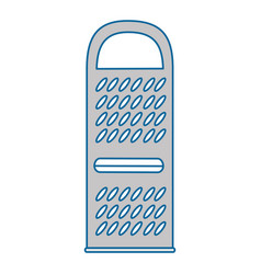 cheese grater isolated icon vector image