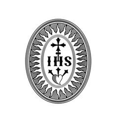 Jesuit order vector