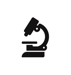 lab microscope icon vector image