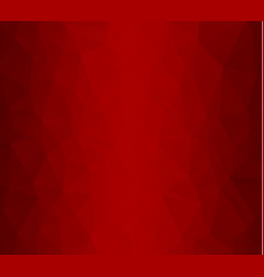 Red white polygonal mosaic background creative vector