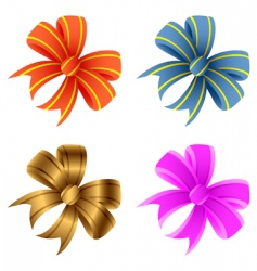bows vector image