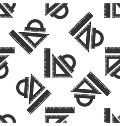 Straightedge icon pattern vector image vector image