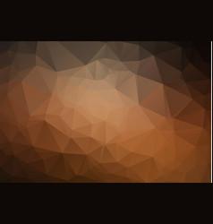 abstract trendy orange triangular pattern modern vector image
