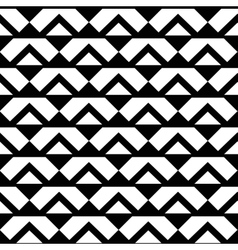 Abstract White Black Triangle Pattern vector