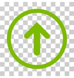 Arrow Up Rounded Icon vector