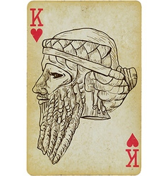 Gilgamesh vector image