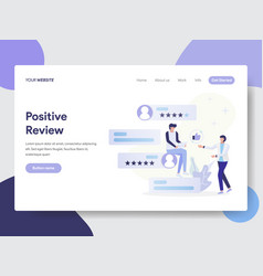 Positive review concept vector