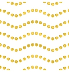 Wavy seamles pattern vector image