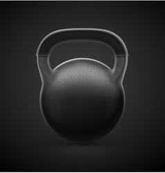 Heavy Kettlebell vector image