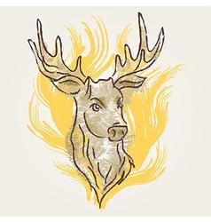 DeerArt vector image