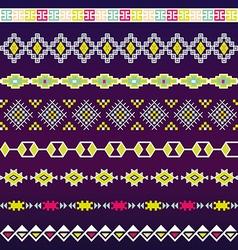 Seamless pattern for tribal design Ethnic motif vector image