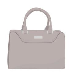 Female handbag icon on a white background vector