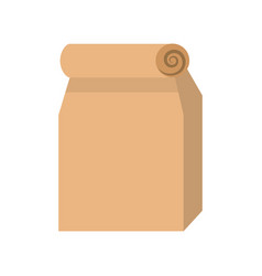 lunch bag in paper bag vector image