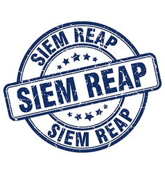 Siem Reap stamp vector