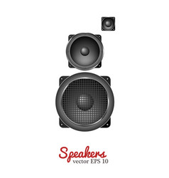 sound speaker loudspeaker icon vector image