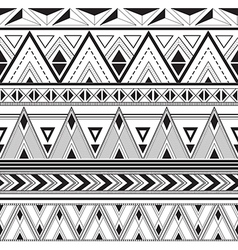 Texture with geometric patterns A set of ornaments vector