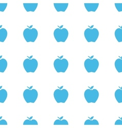 Unique Apple seamless pattern vector image