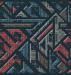 urban geometric striped pattern vector image vector image