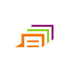 data file office business logo vector image