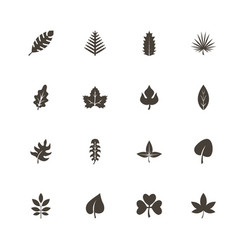 herb - flat icons vector image vector image