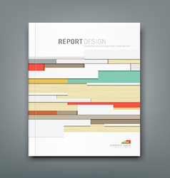 Cover Report wall abstract background design vector image vector image