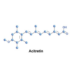 Acitretin is a second-generation retinoid vector