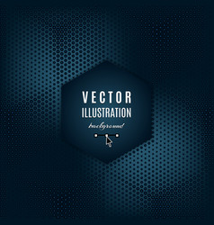 Dark blue gray abstract background vector