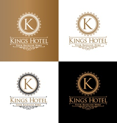 Kings Hotel vector