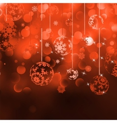 Merry Christmas Elegant Background EPS 8 vector image