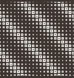 seamless halftone square pattern vector image