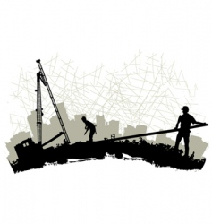 construction vector image vector image