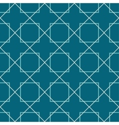 Seamless pattern Blue background vector image vector image
