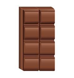 delicious chocolate bar vector image