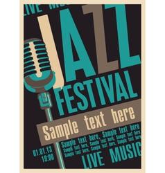 jazz fest vector image