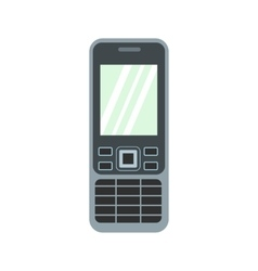 Mobile phone flat icon vector image vector image