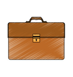 Business briefcase accesory vector