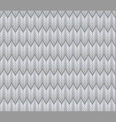 Chevron patterns tile grey and silver design vector