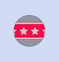 Circus ball vector