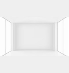 high resolution room with window vector image